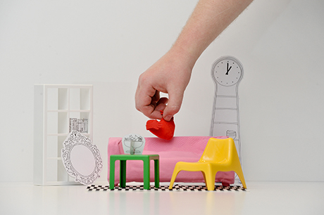 . IKEA HUSET Doll s House Furniture   Louise Jolly   copywriting and